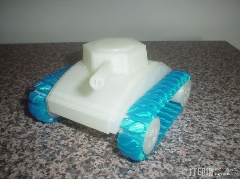 stretchlet坦克模型 3D模型  图4