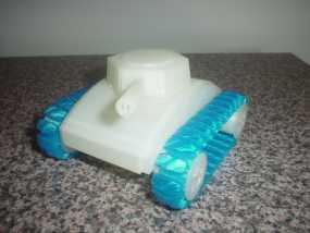 stretchlet坦克模型 3D模型