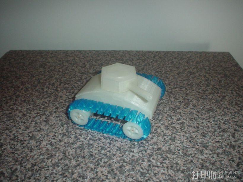 stretchlet坦克模型 3D模型  图8