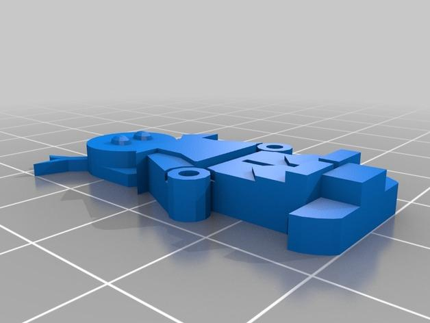 FlatMinis:德鲁伊  3D模型  图2