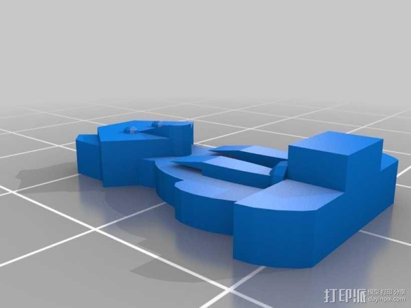 FlatMinis:德鲁伊  3D模型  图5