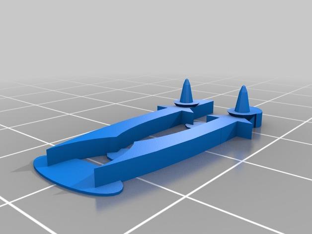 FlatMinis:德鲁伊  3D模型  图3