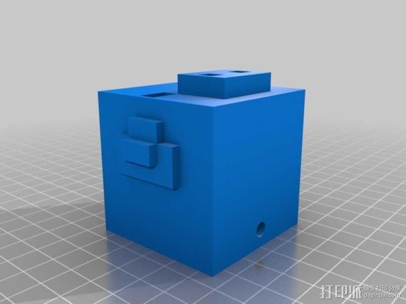 Minecraft:迷你成年猪 3D模型  图2