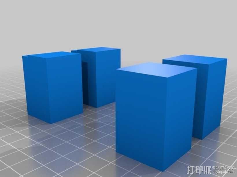 Minecraft:迷你成年猪 3D模型  图4