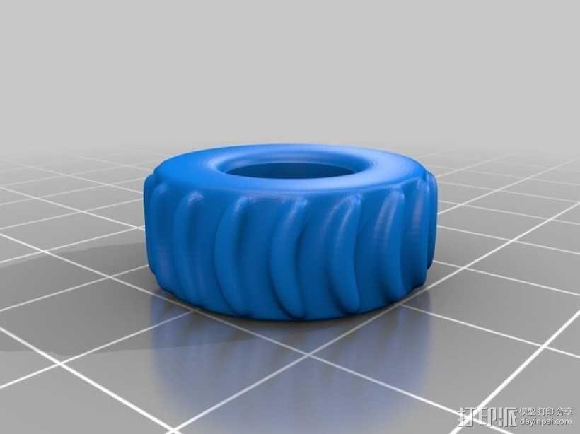 拖车板牙回收站模型 3D模型  图5