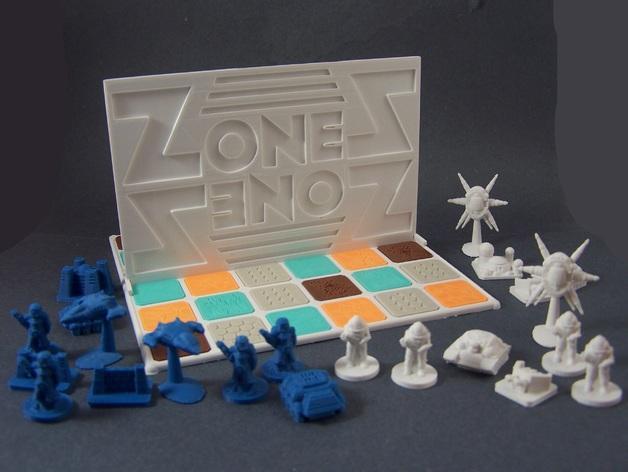 ZoneS战略游戏模型 3D模型  图2