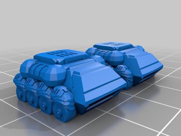 ZoneS战略游戏模型 3D模型  图14