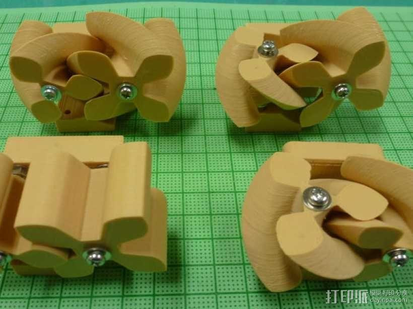 圆形正/斜齿轮模型 3D模型  图1