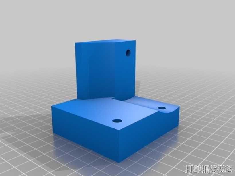 圆形正/斜齿轮模型 3D模型  图2