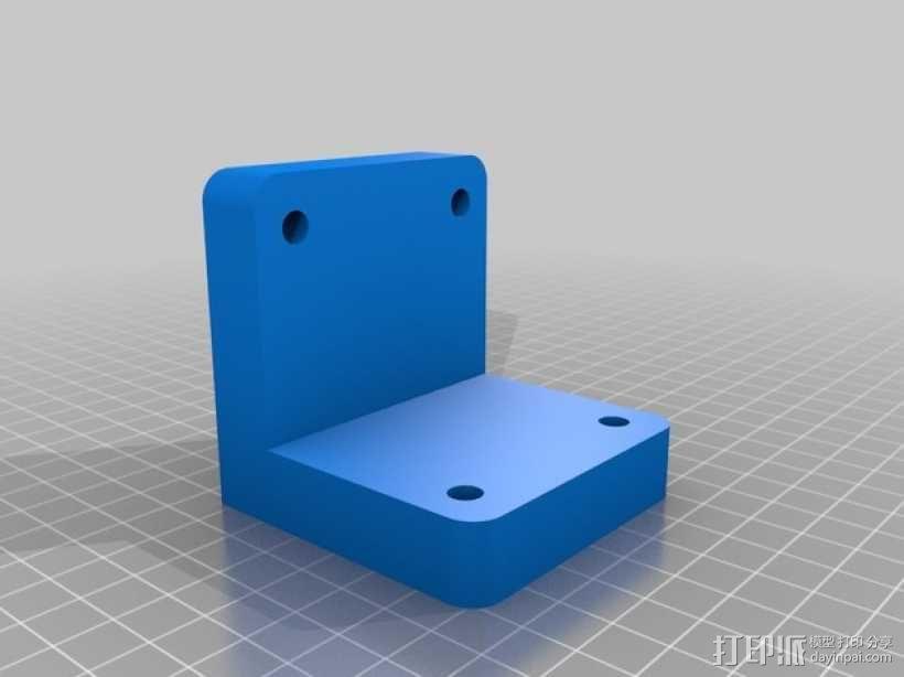圆形正/斜齿轮模型 3D模型  图5