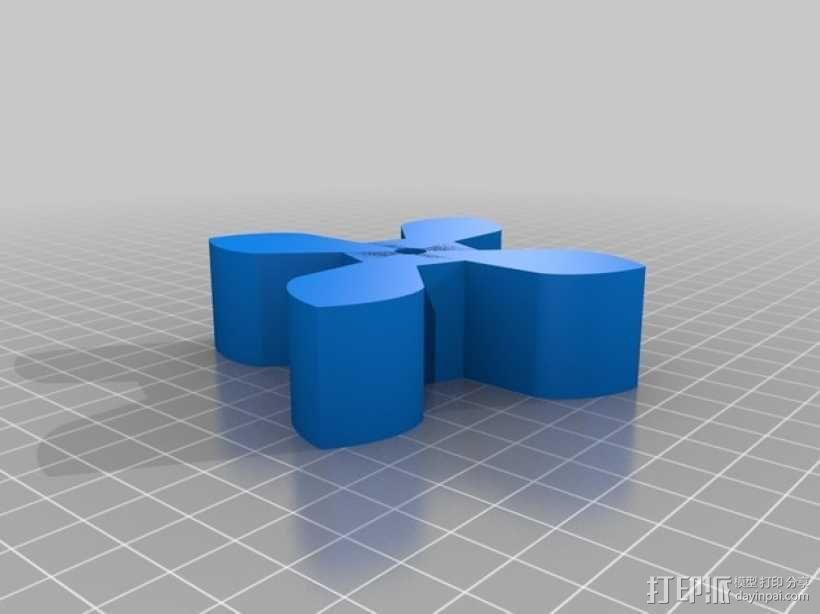 圆形正/斜齿轮模型 3D模型  图8