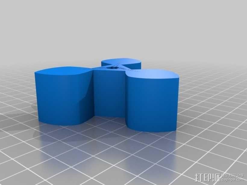 圆形正/斜齿轮模型 3D模型  图9