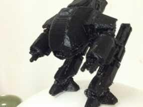 机械战警:ED-209机器人 3D模型