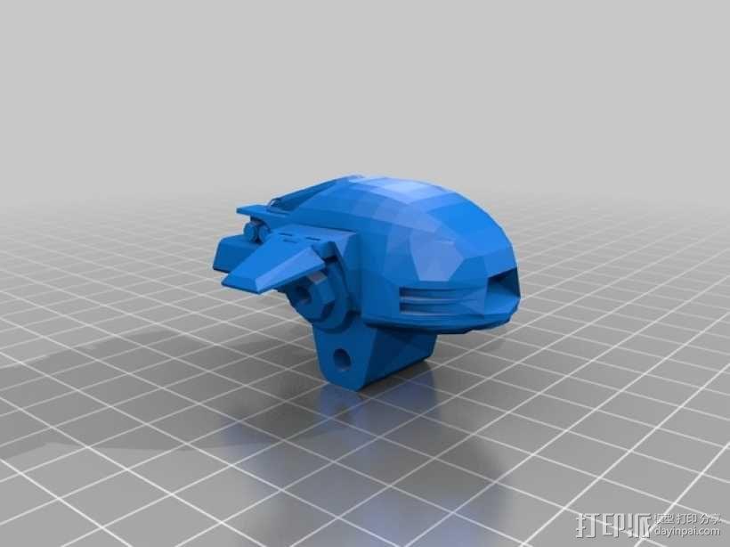 机械战警:ED-209机器人 3D模型  图5
