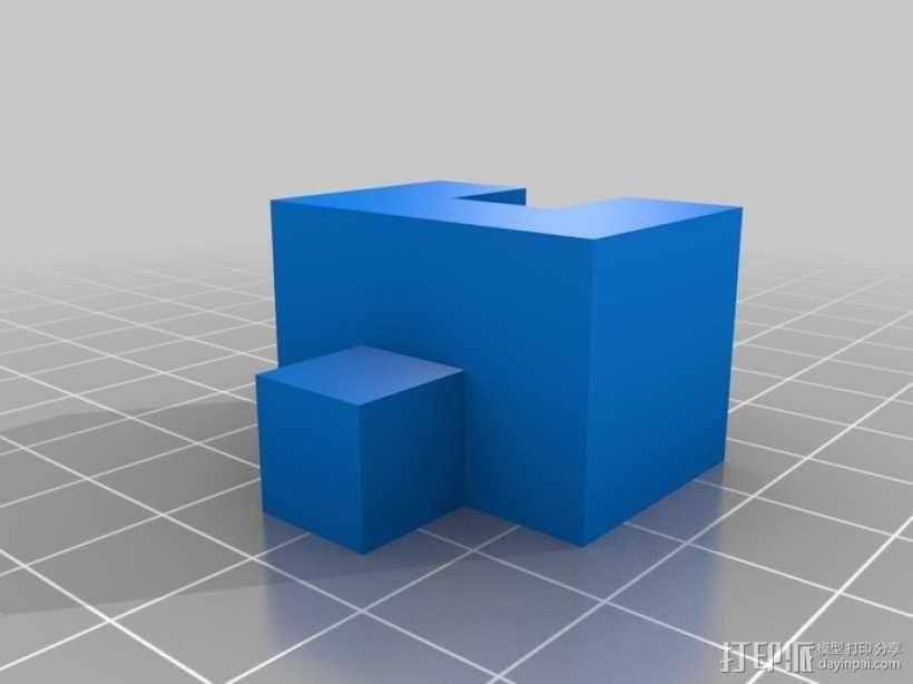 立方体拼图模型 3D模型  图3