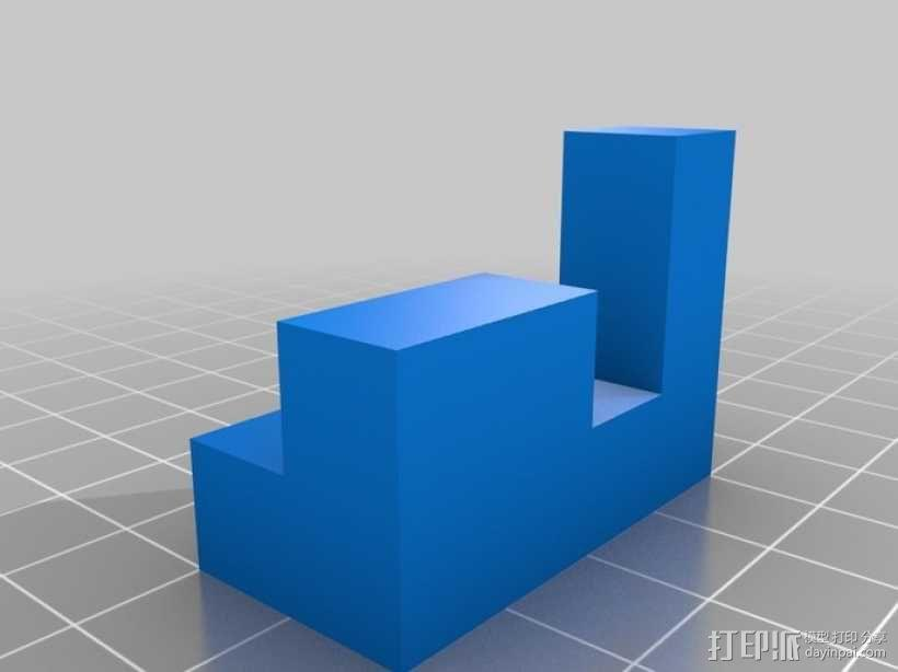 立方体拼图模型 3D模型  图2