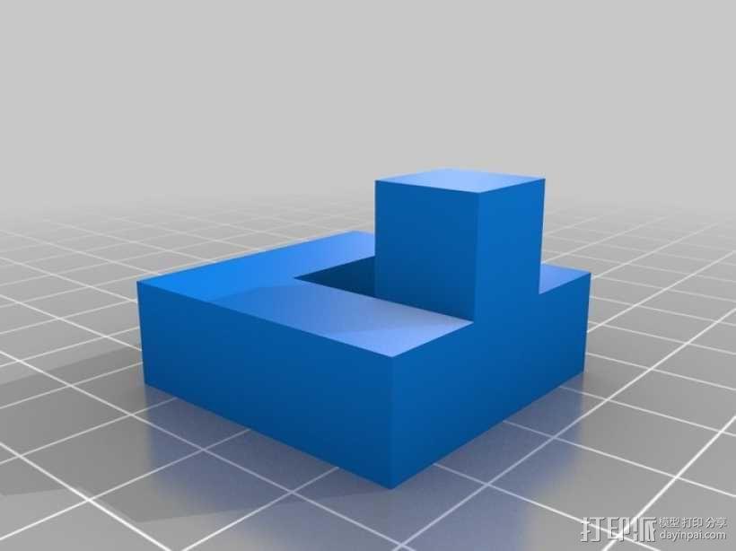 立方体拼图模型 3D模型  图6