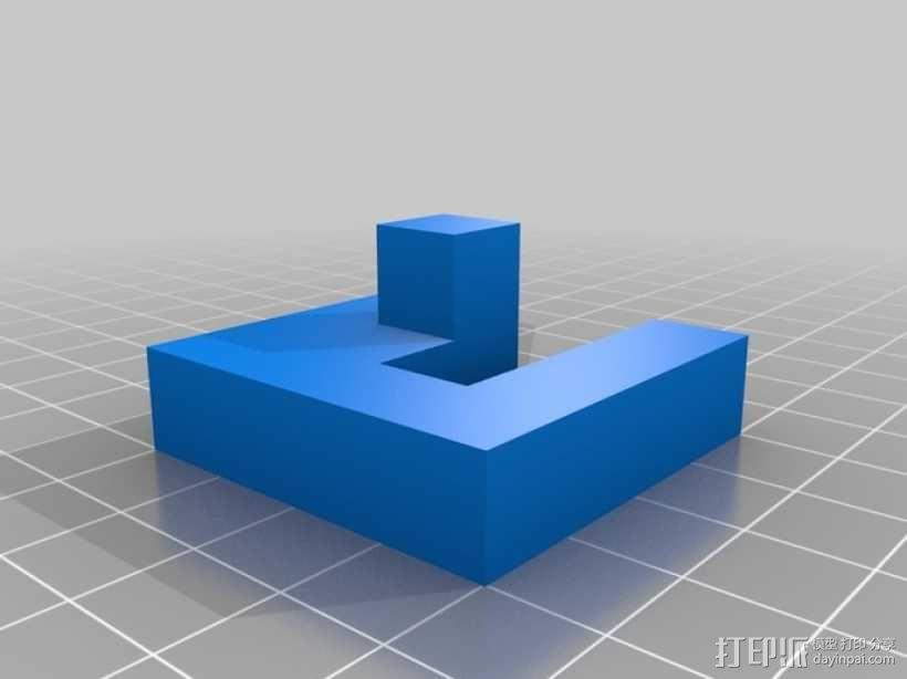 立方体拼图模型 3D模型  图7