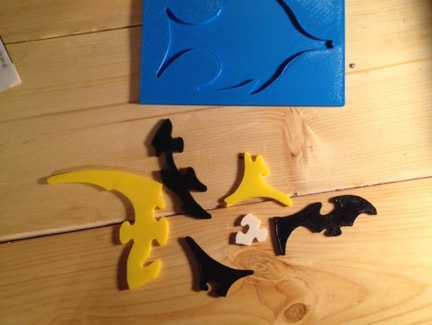 神仙鱼拼图模型 3D模型  图2