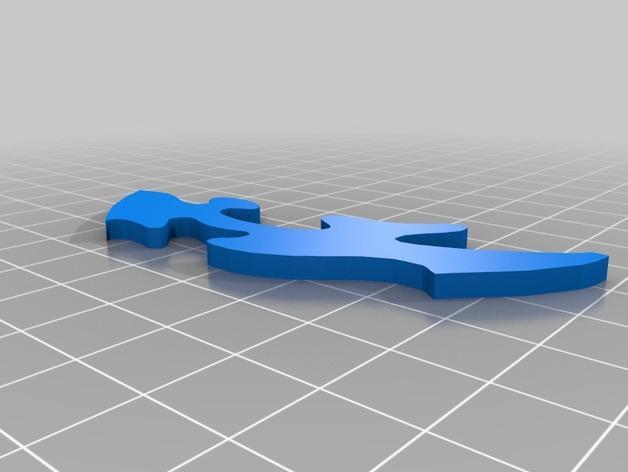 神仙鱼拼图模型 3D模型  图7