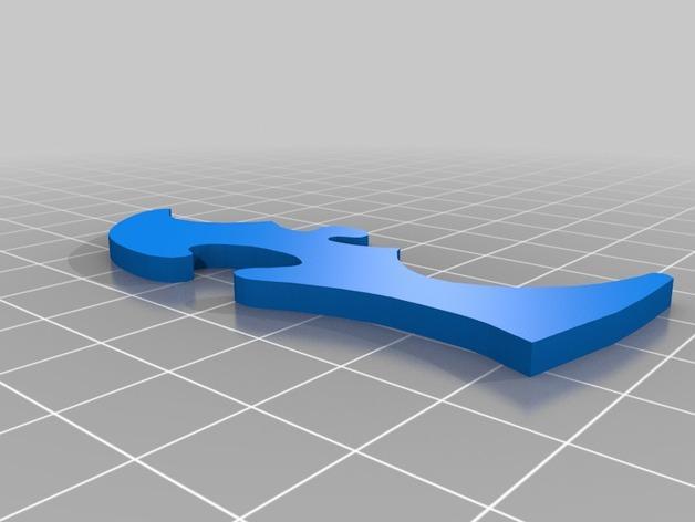 神仙鱼拼图模型 3D模型  图8
