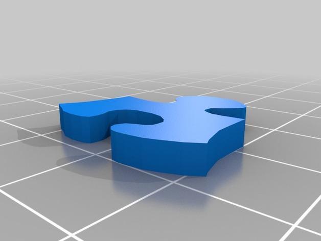 神仙鱼拼图模型 3D模型  图10