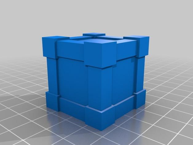 Krosmaster竞技场:板条箱 3D模型  图3
