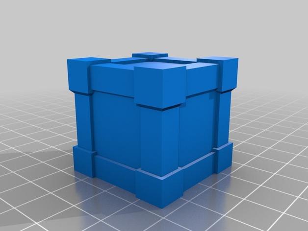 Krosmaster竞技场:板条箱 3D模型  图2