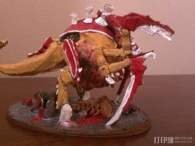 战锤40K:泰伦虫族特蜉冈 3D模型  图3