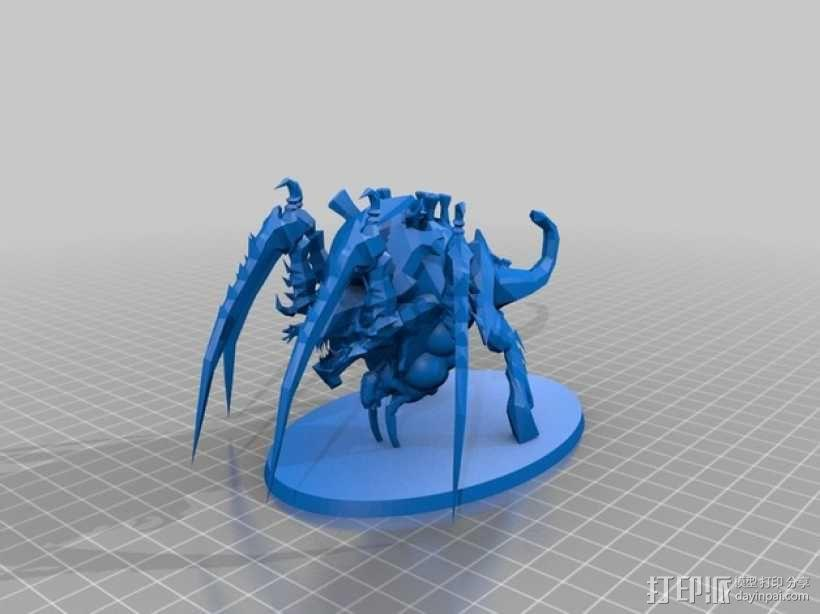 战锤40K:泰伦虫族特蜉冈 3D模型  图4