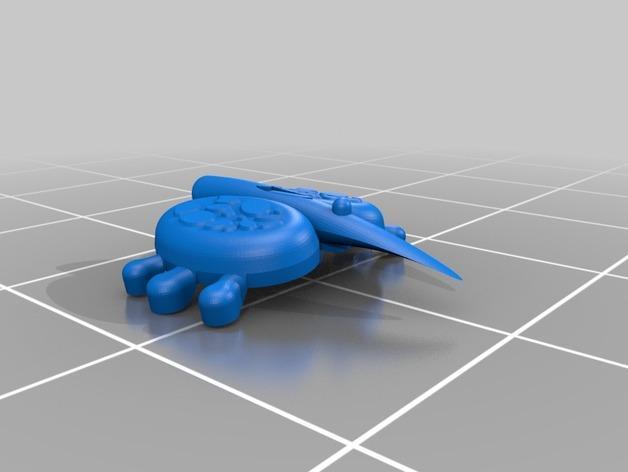 泰伦虫族肾上腺模型 3D模型  图4