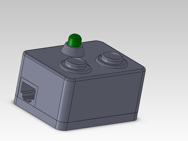 输入模块化箱罩模型 3D模型  图1