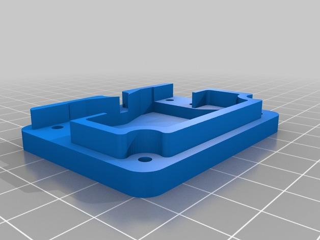 输入模块化箱罩模型 3D模型  图2