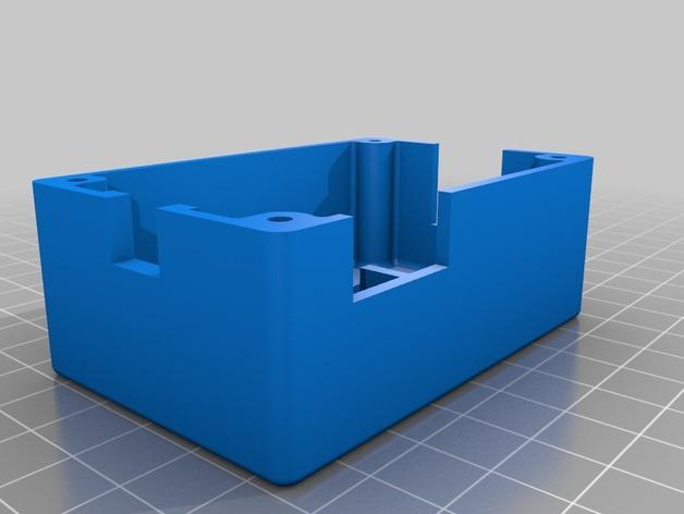 输入模块化箱罩模型 3D模型  图4