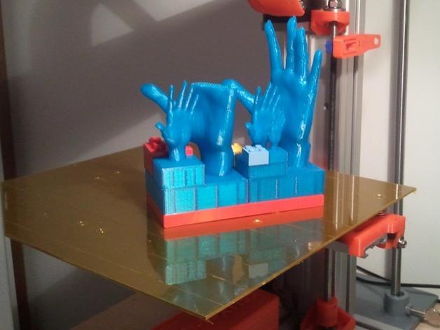 得宝手形玩具方块模型 3D模型  图9