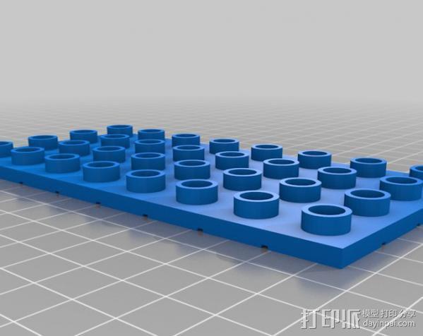 得宝手形玩具方块模型 3D模型  图8