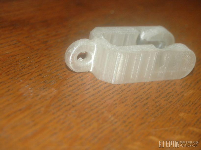迷你滑轮模型 3D模型  图1