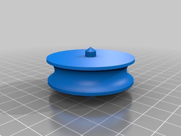 迷你滑轮模型 3D模型  图3