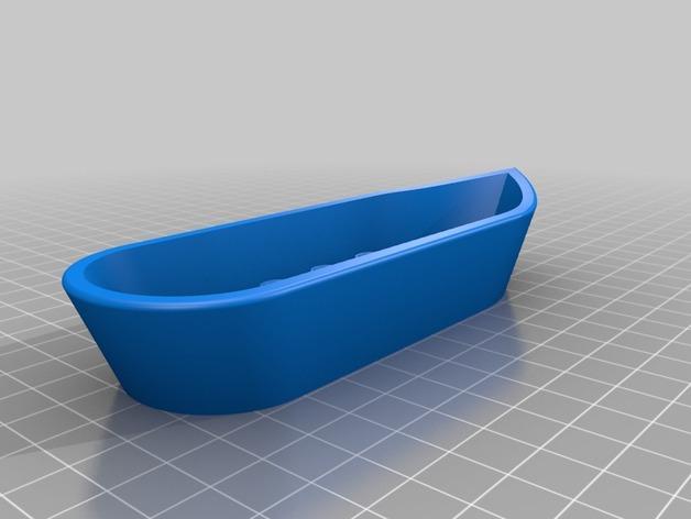 迷你得宝玩具船模型 3D模型  图2