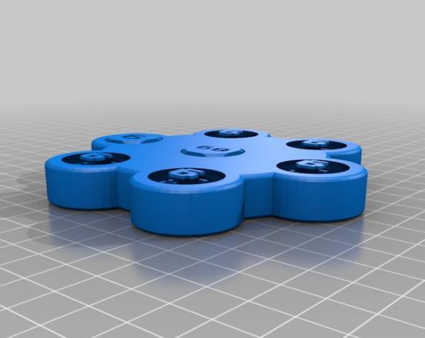 双色骰子游戏模型 3D模型  图2
