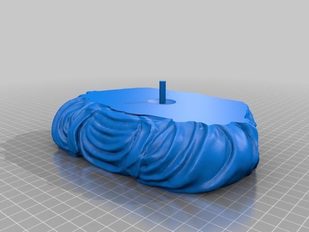 迷你佛像Spuddha 3D模型  图6