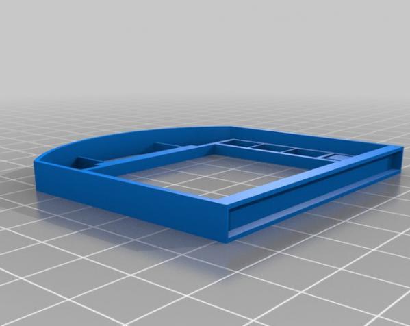 乐高现代风格的迷你门模型 3D模型  图1