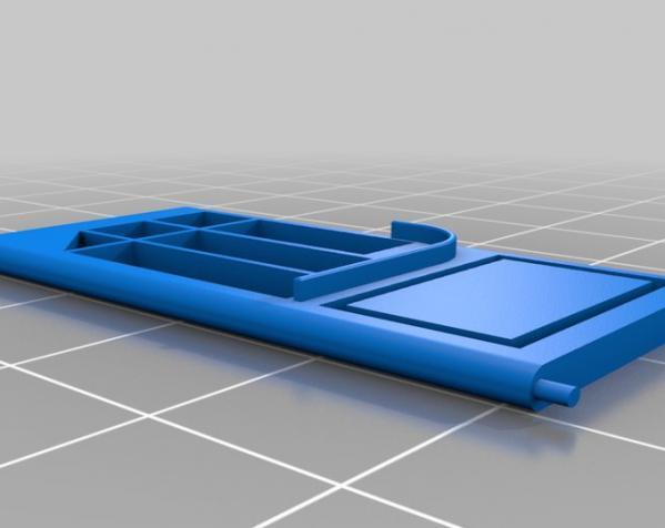 乐高现代风格的迷你门模型 3D模型  图5