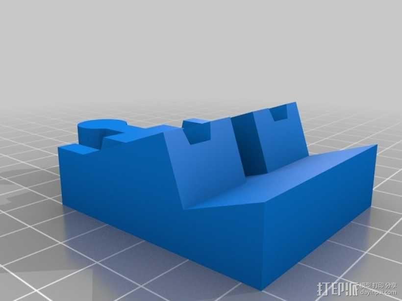 玩具火车桥梁支座模型 3D模型  图6
