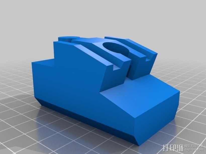 玩具火车桥梁支座模型 3D模型  图8