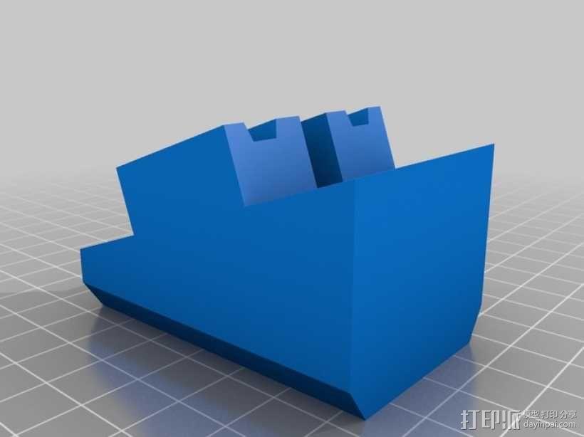 玩具火车桥梁支座模型 3D模型  图7