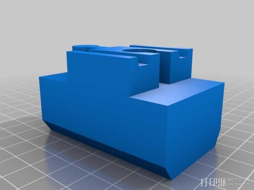玩具火车桥梁支座模型 3D模型  图10