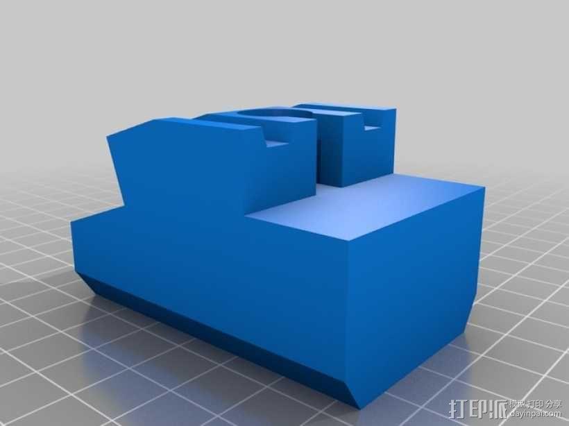 玩具火车桥梁支座模型 3D模型  图9
