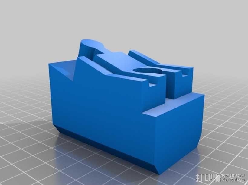 玩具火车桥梁支座模型 3D模型  图12