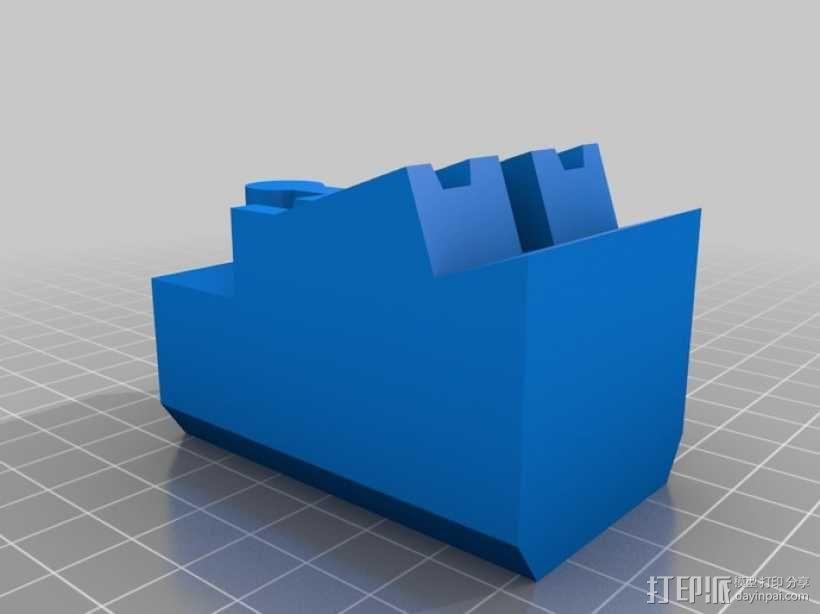 玩具火车桥梁支座模型 3D模型  图11